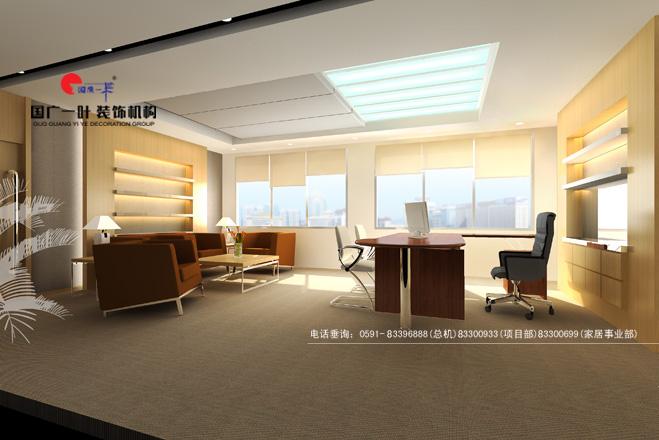 戴姆勒 克莱斯勒汽车有限公司办公楼 国广一叶 室内设计作高清图片